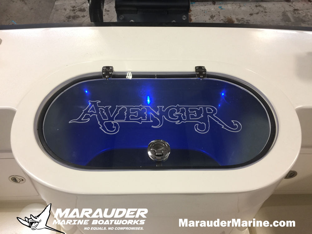 24'  Yacht Tender and Fishing Boat Custom Built in 24 Foot Avenger Custom Fishing Boats photo gallery from Marauder Marine Boat Works