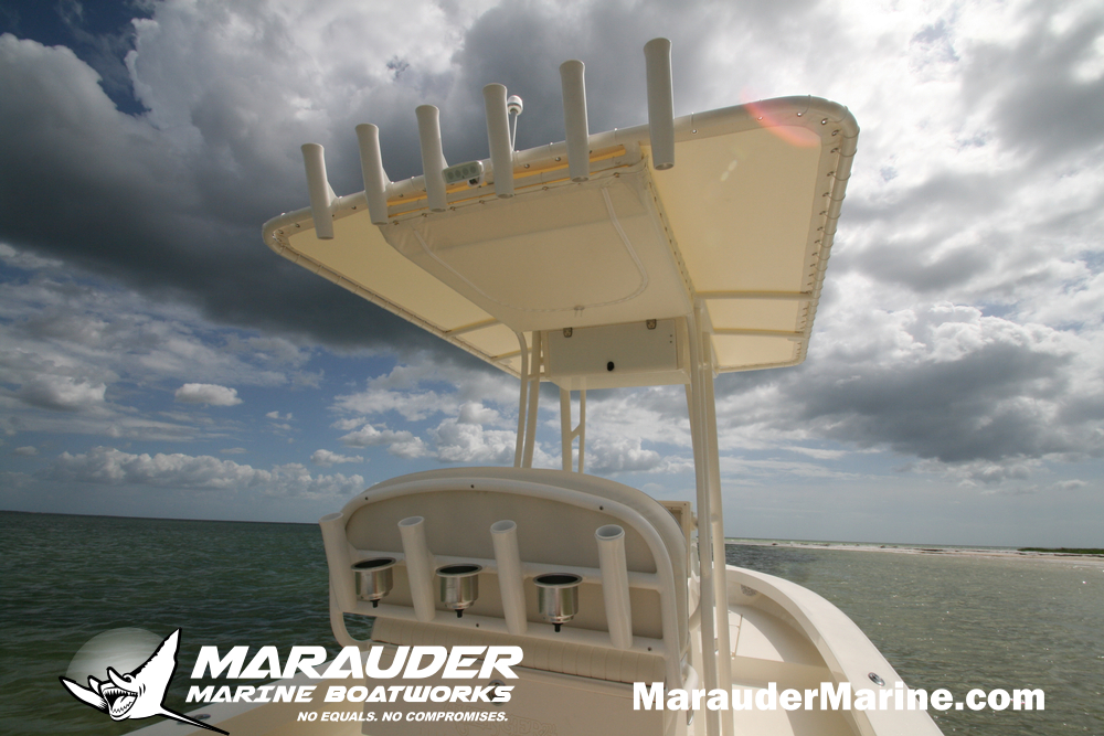 24'  Custom Shallow Draft Boats for all Waters in 24 Foot Avenger Custom Fishing Boats photo gallery from Marauder Marine Boat Works