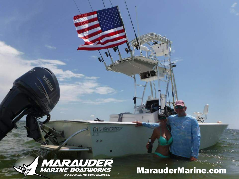 24' Tarpon Fishing Boat and Bay Boat in Florida in 24 Foot Avenger Custom Fishing Boats photo gallery from Marauder Marine Boat Works
