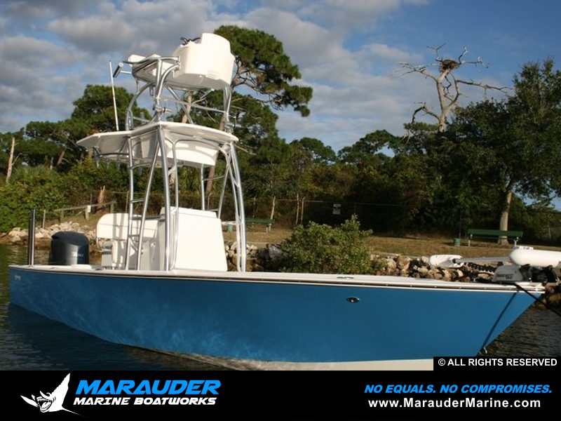 Avenger 24' Custom Fishing Boats | Bay Boats and Near shore by Marauder Marine Photo 12 in Avenger Pro Series Custom Bay Boats photo gallery from Marauder Marine Boat Works