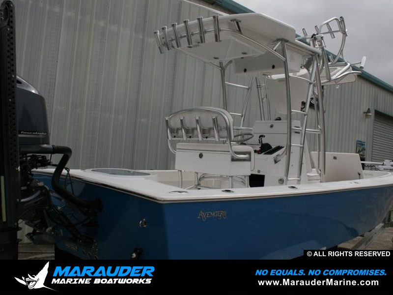 Avenger 24' Custom Fishing Boats | Bay Boats and Near shore by Marauder Marine Photo 15 in Avenger Pro Series Custom Bay Boats photo gallery from Marauder Marine Boat Works