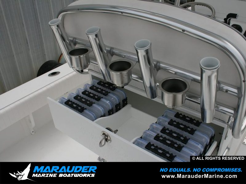 Avenger 24' Custom Fishing Boats | Bay Boats and Near shore by Marauder Marine Photo 19 in Avenger Pro Series Custom Bay Boats photo gallery from Marauder Marine Boat Works