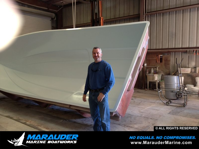 Best Boat For Fishing Guides | Marauder Marine Works | Guide Fishing Boats in Custom Bay Boat Construction photo gallery from Marauder Marine Boat Works